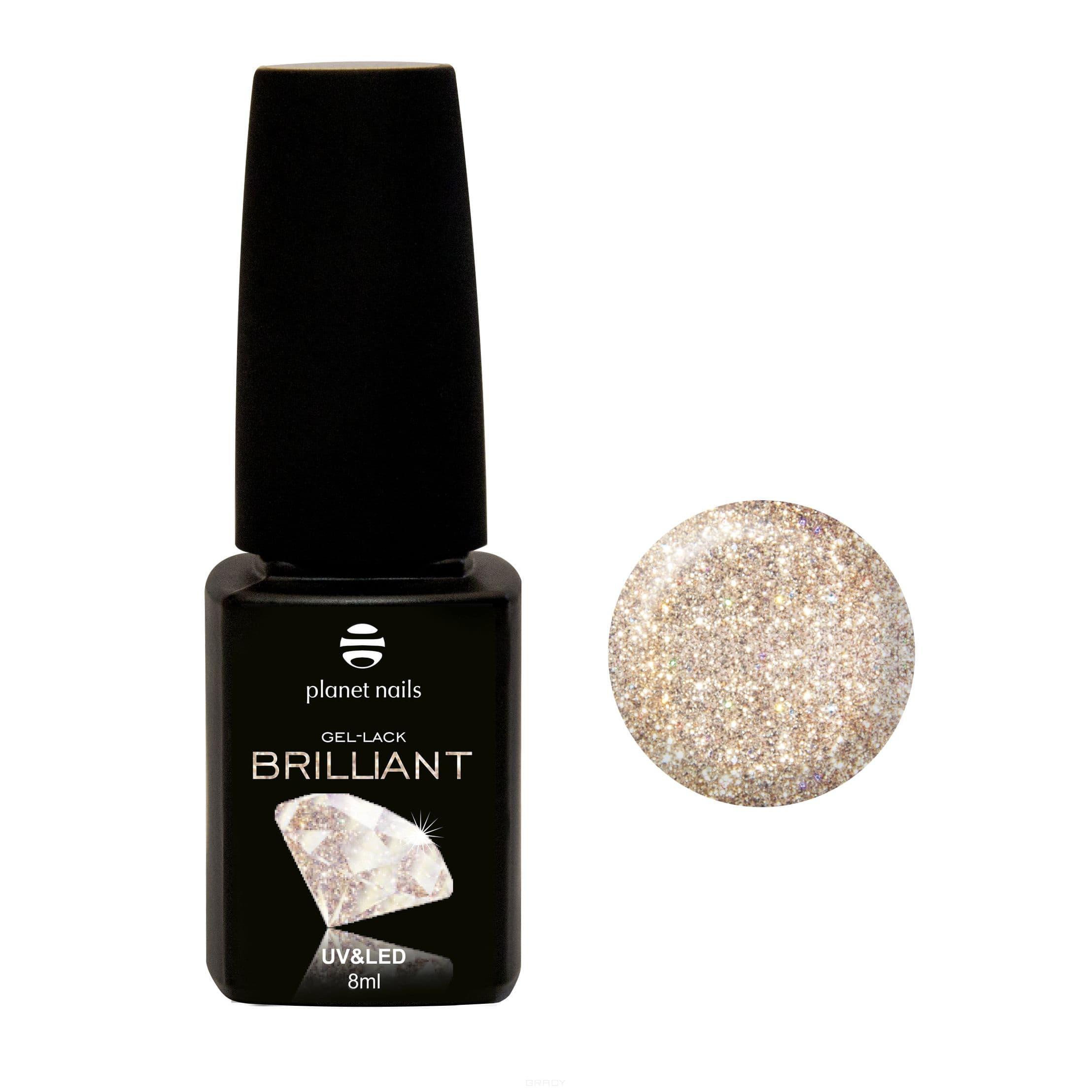 Купить Planet Nails, Гель-лак Brilliant Планет Нейлс, 8 мл (18 оттенков) 702
