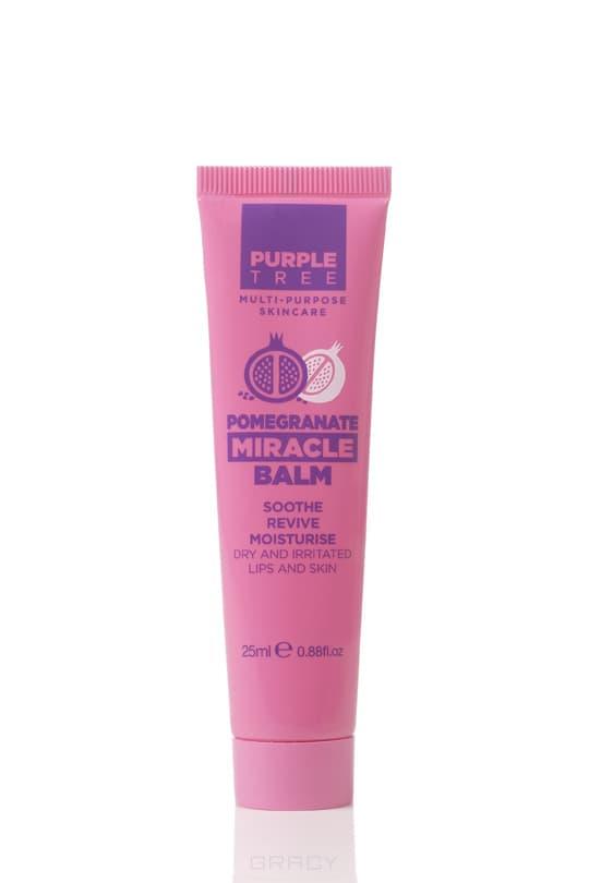 Purple Tree, Бальзам для губ и кожи Гранат Miracle Balm Pomegranate, 25 мл