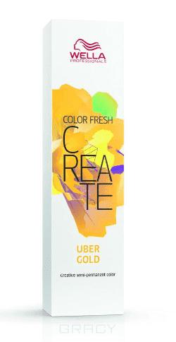 Фото - Wella, Оттеночная краска для ярких акцентов Color Fresh Create, 60 мл (13 оттенков) Киберзолото UBER GOLD оттеночная краска для ярких акцентов color fresh create 60 мл 13 оттенков