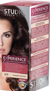 Studio, Краска для волос experience (8 оттенков), 40/60/15 мл 4.75 Глубокий каштановый