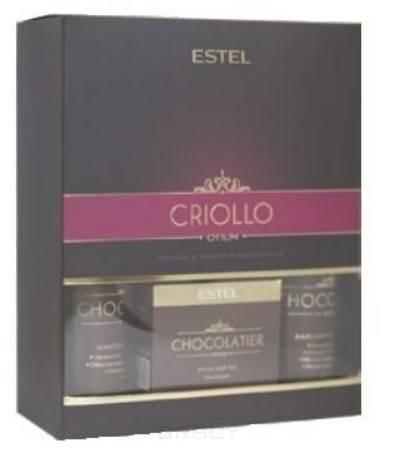 Фото - Estel, Chocolatier Набор для волос и тела Эстель Criollo, 250/200/65 мл estel крем для рук белый шоколад chocolatier 50 мл