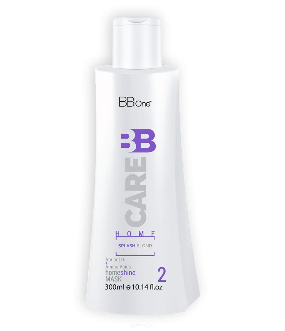 BB One, Маска BB Care Splash Blond Shine Mask, 300 мл bb one рабочая тетрадь bb one