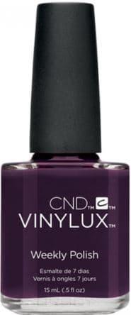 Купить CND (Creative Nail Design), Винилюкс Профессиональный недельный лак VINYLUX™ Weekly Polish (54 оттенка) 15 мл # 159 (Dark Dahlia)