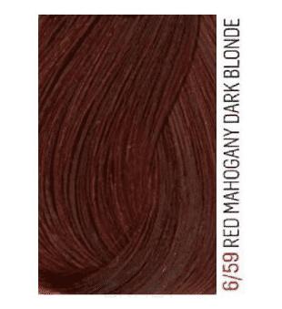 Lakme, Перманентная крем-краска для волос без аммиака Chroma, 60 мл (32 тона) 6/59 Темный блондин махагоново-красный barex крем краска для волос 6 66 темный блондин красный интенсивный joc color 100 мл