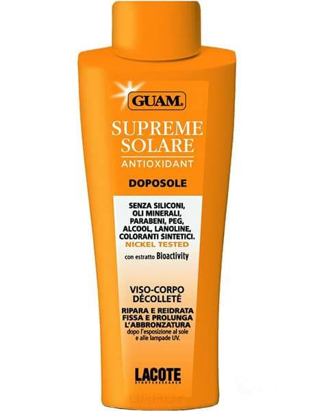 Guam, Крем после загара дл лица и тела Solare, 150 млСредства дл загара на солнце<br><br>