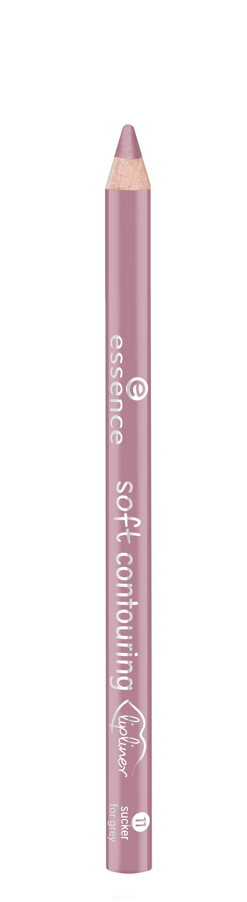 Essence, Контур для губ Soft Contouring Lipliner (11 тонов) №11, розовато-лиловый  - Купить