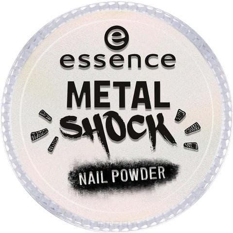Essence, Эффектная пудра для ногтей Metal Shock Nail Powder, 9 гр (6 оттенков) №03, розовый перламутр цена