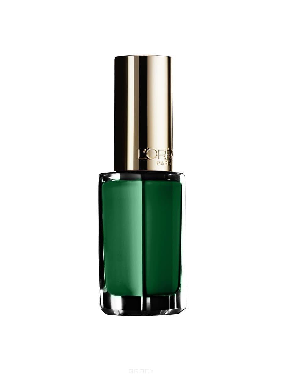 LOreal, Лак для ногтей Color Riche, 5 мл (37 оттенков) 196 Зеленое пероЦветные лаки для ногтей<br><br>