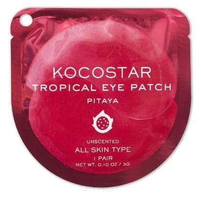 Купить Kocostar, Гидрогелевые патчи для глаз Тропические фрукты Питахайя Tropical Eye Patch Pitaya, 2 патча/1 пара, 3 гр