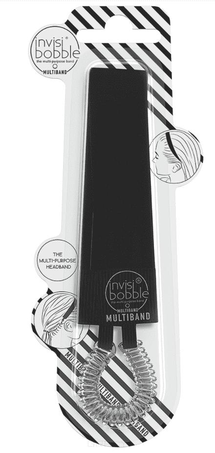 Повязка для волос MULTIBAND True Black, 1 шт цветок гирлянда цветочные люкс головная повязка hairband выпускного вечера венчания аксессуары для волос