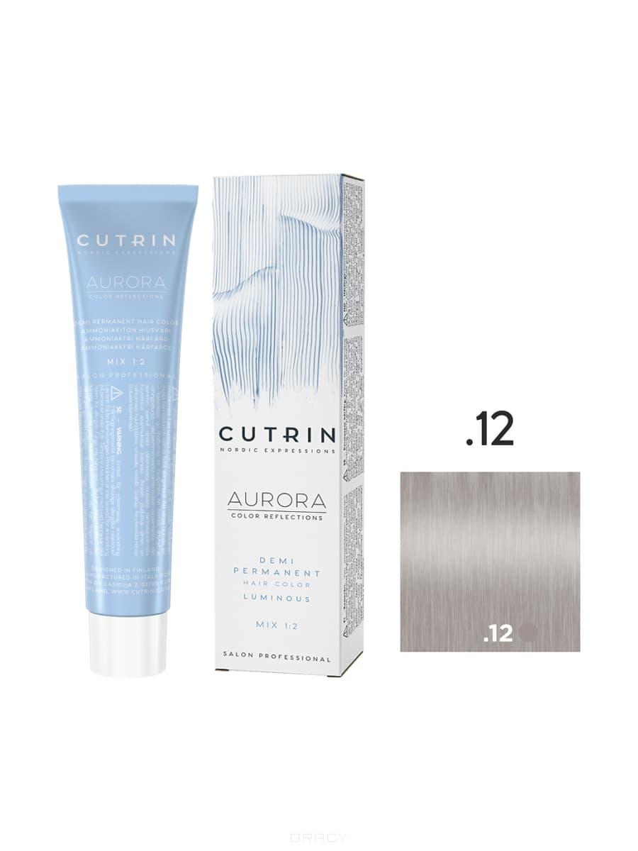 Cutrin, Безаммиачная краска Aurora Demi (Новый дизайн Reflection Demi), 60 мл (55 оттенков) .12 Ледяной щербет фото