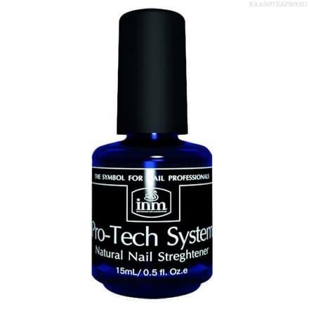 Средство для усиления роста и укрепления ногтей Pro-Tech System, 15 млУкрепляющее средство Pro-Tech System со сбалансированной формулой искусственного протеина заботится о ногтях, способствуя их быстрому росту и укреплению. Средство предназначено для тонких, ломких и слоящихся ногтей.&#13;<br> &#13;<br>Pro-Tech System имеет прозрачную текстуру, поэтому его можно использовать в качестве основы под лак. Это позволит дополнительно защитить ногтевую пластину от красящих пигментов лака и его агрессивных составляющих, а также создать безупречно ровное покрытие для нанесения лака.<br>