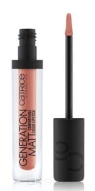 Catrice, Жидкая матовая помада для губ Generation Matt Comfortable Liquid Lipstick (10 оттенков) 010 Nudetown Express sanan hy 027