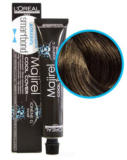 Купить L'Oreal Professionnel, Краска для волос Majirel Cool Cover (13 оттенков) 6.3 Темный блондин золотистый