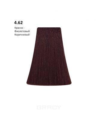 Купить BB One, Перманентная крем-краска Picasso (153 оттенка) 4.62 Red Violet Brown/Красно-Фиолетовый Коричневый