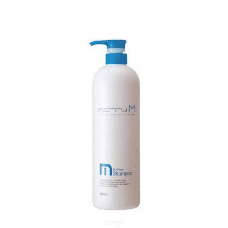 Био-восстанавливающий Шампунь Hair Cleansing Products - Merry M Bio Repair Shampoo, 1 л jungle fever шампунь восстанавливающий hair rebuilder shampoo henna therapy 250мл