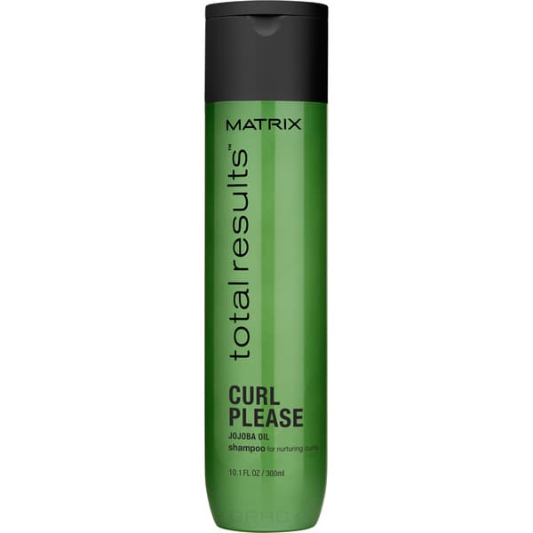 Matrix, Шампунь для вьющихся волос Curl Please Shampoo Total Results, 300 мл matrix total results curl please super defrizzer объем 200 мл
