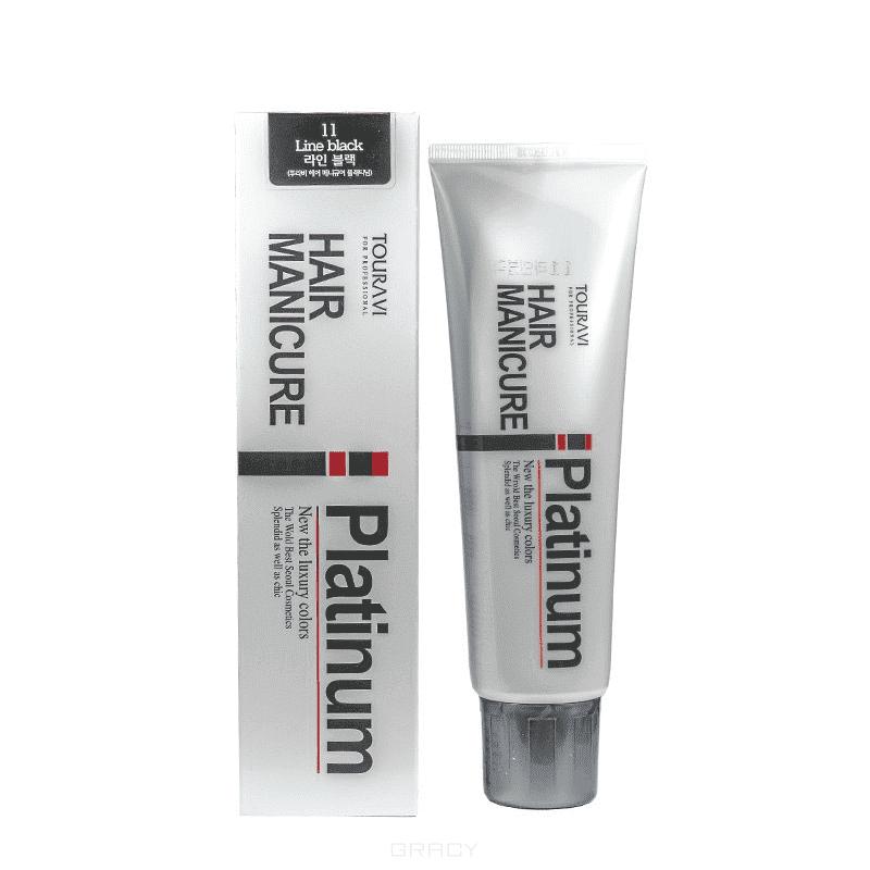 SeoulCosmetics, Тонирующая гель-маска TOURAVI HAIR MANICURE, 200 мл, (9 оттенков) 11 Line black
