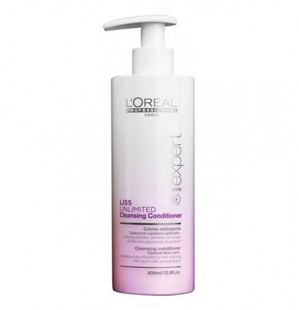 L'Oreal Professionnel, Очищающий кондиционер для чувствительных непослушных волос Liss Unlimited Conditioner, 400 мл цена