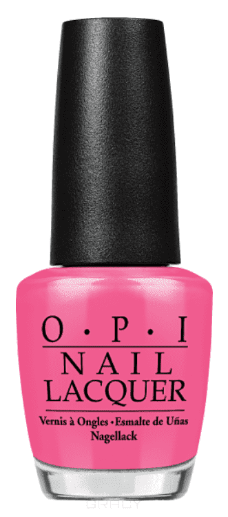 OPI, Лак для ногтей Classic, 15 мл (156 цветов) Strawberry Margarita opi лак для ногтей nail lacquer nutcracker 2018 15 мл 15 цветов toying with trouble