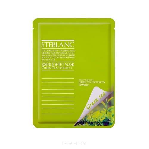 Steblanc, Маска для лица Очищающая с экстрактом Зелёного чая, 45EA-22482 маска для лица очищающая steblanc маска для лица очищающая
