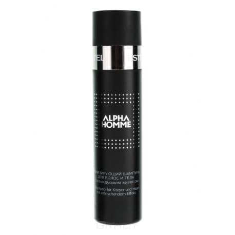 Купить Estel, Alpha Homme Шампунь тонизирующий с охлаждающим эффектом Эстель Pro Shampoo, 250 мл