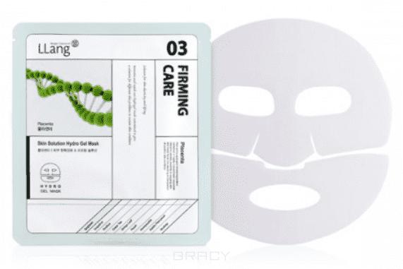 цена на LLang, Гидрогелевая маска с плацентой Skin Solution Hydro Gel Mask (Plancenta), 25 мл