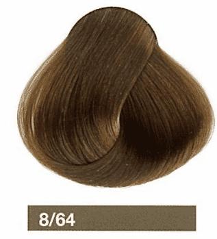 Купить Lakme, Перманентная крем-краска Collage, 60 мл (99 оттенков) 8/64 Блондин коричнево-медный