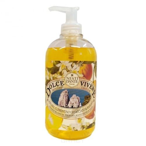 Nesti Dante, Жидкое мыло Капри Dolce Vivera, 500 млЛини Dolce Vivere - сладка жизнь<br><br>