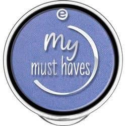 Essence, Тени для век My Must Haves, 1.7 гр (15 оттенков) №22, синий с блеском фото