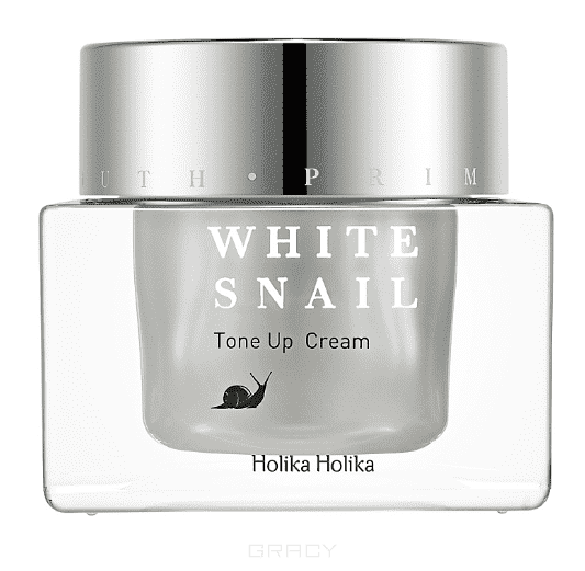 Prime Youth White Snail Tone Up Cream Осветляющий крем для лица, 50 мл Холика Холика осветляющий крем для лица the yeon yo woo cream