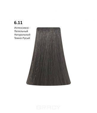 Купить BB One, Перманентная крем-краска Picasso (153 оттенка) 6.11Intense Ash Natural Dark Blond/Интенсивно-Пепельный Натуральный Темно-Русый