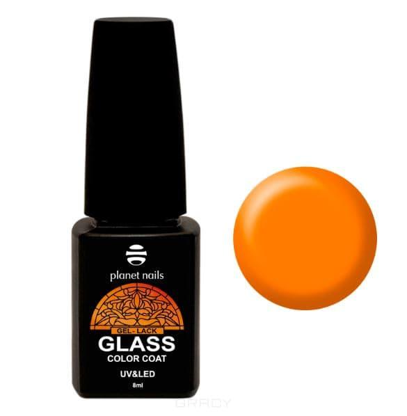 Planet Nails, Гель-лак GLASS (6 оттенков), 8 мл Гель-лак GLASS - 743 irisk гель лак odri macarons 87
