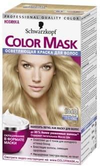 Schwarzkopf Professional, Краска для волос Color Mask, 60 мл (16 оттенков) 1060 Ванильный блондОкрашивание<br>Краска Schwarzkopf Color Mask   уникальная разработка для окрашивания и ухода за волосами<br> <br>Краска для волос Color Mask – уникальная разработка немецкой компании Schwarzkopf. Продукт имеет консистенцию маски, что повышает его эффективность и упрощает ...<br>