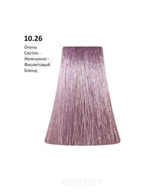 Купить BB One, Перманентная крем-краска Picasso (153 оттенка) 10.26Very Light Blond Pearl Violet/Очень Светло - Жемчужно-Фиолетовый Блонд