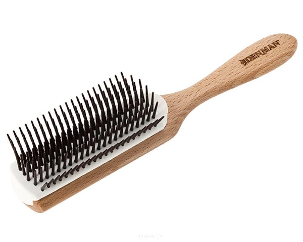 Фото - Denman, Щетка для волос деревянная с ароматом кокоса denman щетка для волос 5 рядов