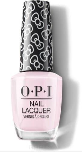 OPI, Лак для ногтей Nail Lacquer, 15 мл (287 цветов) Let's Be Friends / HELLO KITTY 2019 opi лак для ногтей nail lacquer 15 мл 275 цветов a kiss on the chìc hello kitty 2019