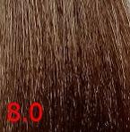 Купить Kaaral, Крем-краска для волос Baco Permament Haircolor, 100 мл (106 оттенков) 8.0 светлый блондин