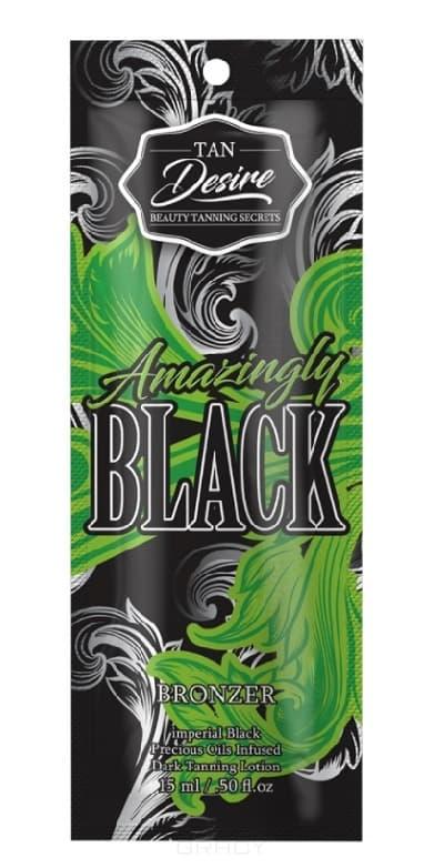 Tan Desire, Лосьон для загара с бронзатором Amazingly Black, 250 мл california tan крем для загара в солярии status tan pure step 2 250 мл