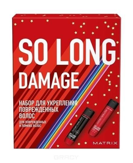 Купить Matrix, Новогодний набор для волос So Long 2021 (шампунь + кондиционер), 300/300 мл