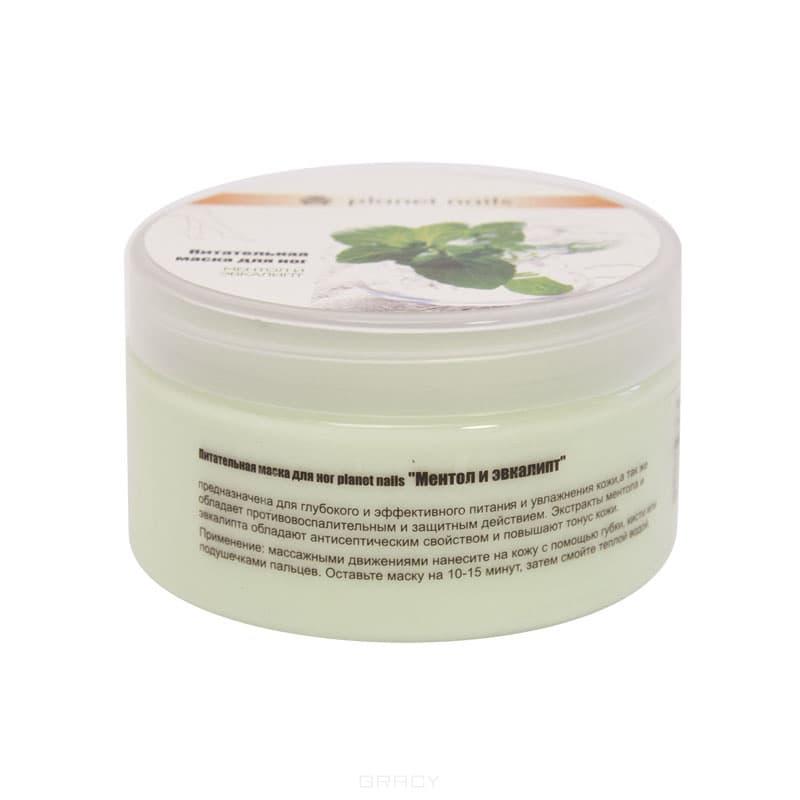 Питательная маска для ног Ментол и эвкалипт, 230 млПредназначена для глубокого и эффективного питания и увлажнения кожи, а также обладает противовоспалительным и защитным действием. Экстракты ментола и эвкалипта обладают антисептическим свойством и повышают тонус кожи.&#13;<br>&#13;<br>  &#13;<br>&#13;<br>&#13;<br>Способ применения:&#13;<br>&#13;<br>Массажными движениями нанесите на кожу с помощью губки, кисти или подушечками пальцев. Оставьте маску на 10-15 минут, затем смойте теплой водой.<br>