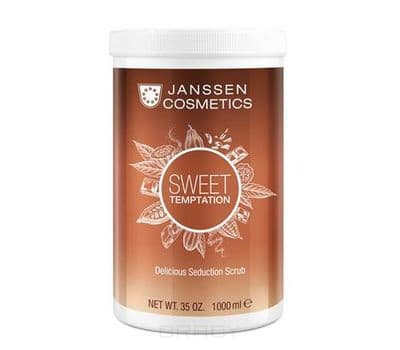Janssen, Изысканный релаксирующий скраб с экстрактом какао Delicious Seduction Scrub, 1 л sothys delicious scrub cinnamon and ginger escape изысканный скраб для тела с корицей и имбирем 800 мл