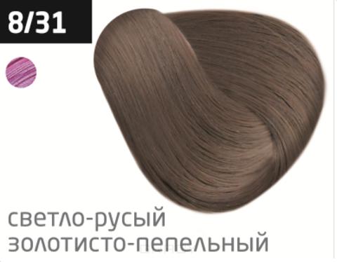 Купить OLLIN Professional, Перманентная стойкая крем-краска с комплексом Vibra Riche Ollin Performance (120 оттенков) 8/31 светло-русый золотисто-пепельный