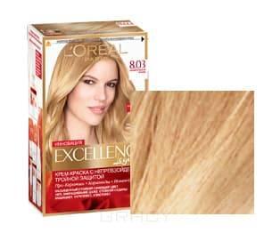 LOreal, Краска для волос Excellence Creme (30 оттенков), 270 мл 8.03 Пленительный блондОкрашивание<br><br>