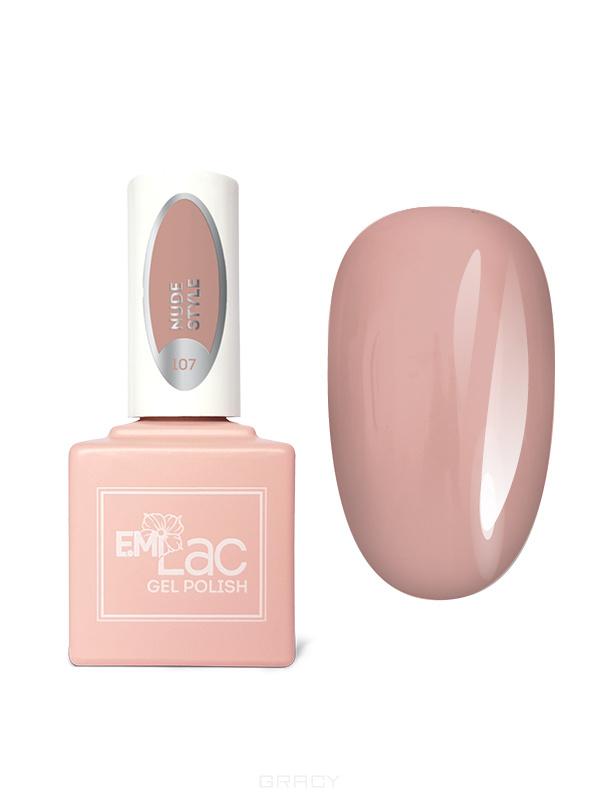 Купить E.Mi, Гель-лак для ногтей, E.MiLac №107 DV Nude Style