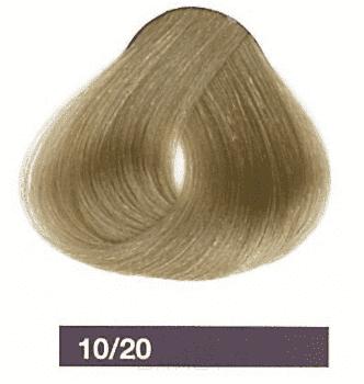 Lakme, Перманентная крем-краска Collage, 60 мл (99 оттенков) 10/20 Очень светлый блондин фиолетовый
