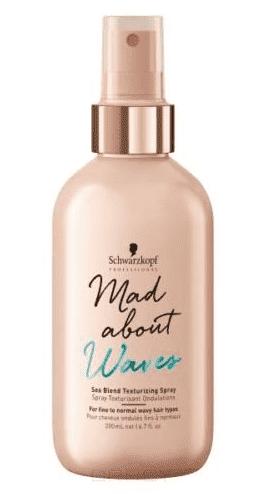 Текстурирующий спрей для объема волнистых волос Mad About Waves Sea Blend Texturizing Spray, 200 мл planet waves pw pl 03 shine instant spray cleaner