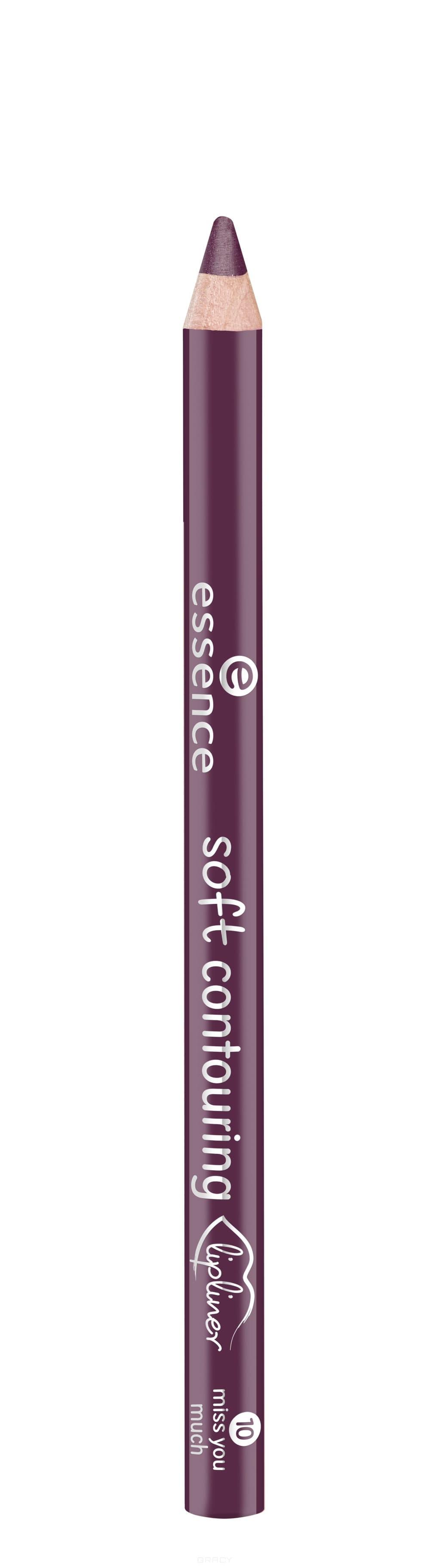 Купить Essence, Контур для губ Soft Contouring Lipliner (11 тонов) №10, темно-пурпурный