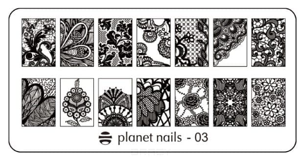Planet Nails, Пластина для Stamping Nail Art (15 видов) Пластина для Stamping Nail Art - 03 a history of venice