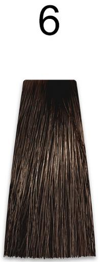 Купить Kaaral, Стойкая безаммиачная крем-краска с гидролизатами шелка Baco Soft Ammonia Free, 60 мл (42 оттенка) 6 темный блондин